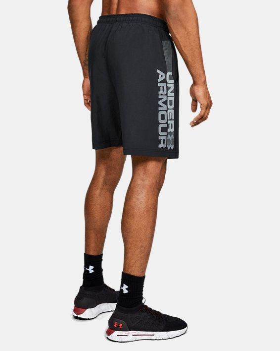 Herren Shorts UA Woven Graphic Wordmark, Black, pdpMainDesktop image number 1