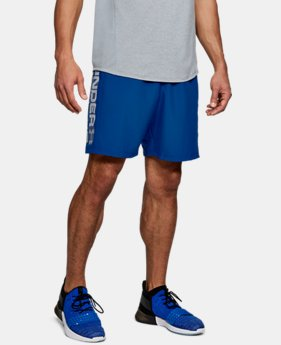 Men's UA Woven Graphic Wordmark Shorts  1  Color Available $35