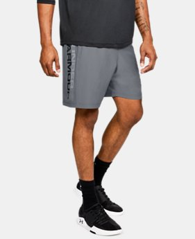 Men's UA Woven Graphic Wordmark Shorts  1  Color Available $30