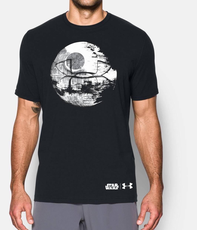 men 39 s star wars death star t shirt under armour us. Black Bedroom Furniture Sets. Home Design Ideas