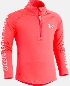Girls' Pre-School UA Training ¼ Zip  1 Color $34.99