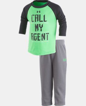 New Arrival Boys' Infant UA Call My Agent Set  1 Color $34.99