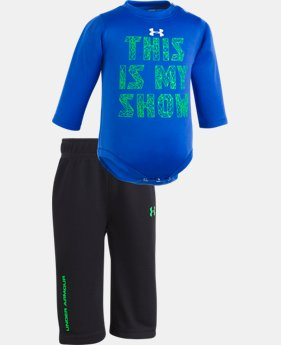 New Arrival Boys' Newborn UA This Is My Show Set  1 Color $34.99