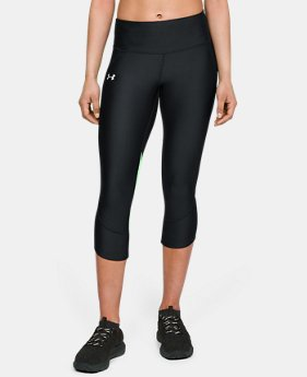 Women's UA Armour Fly Fast Capri   $55