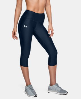 New Arrival Women's UA Armour Fly Fast Capri LIMITED TIME: FREE U.S. SHIPPING 2 Colors $55