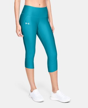 Women's UA Armour Fly Fast Capri  1  Color Available $55