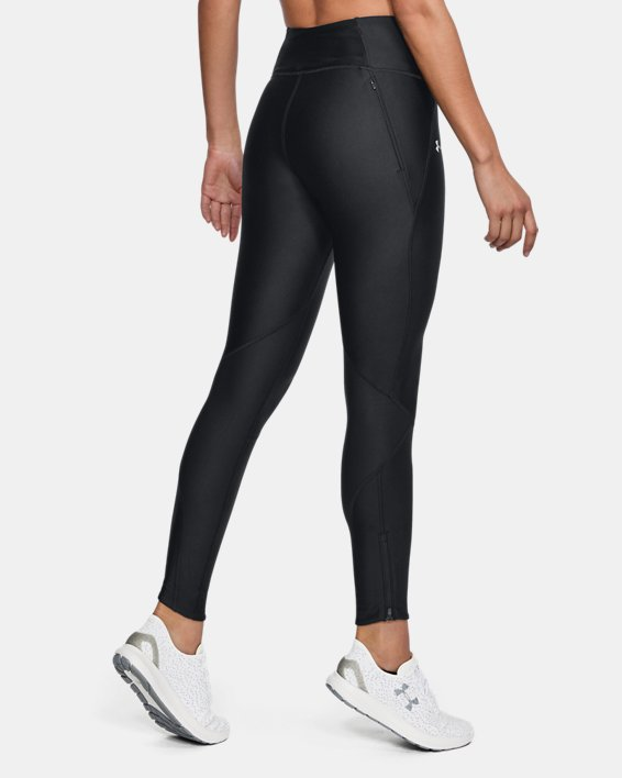 Women's UA Armour Fly-Fast Tights, Black, pdpMainDesktop image number 2