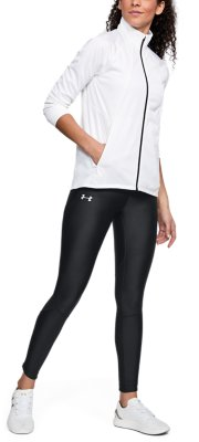 Under Armour UA HeatGear Fly Fast Black Ladies Compression Sports Running Tights