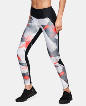 Women's UA Armour Fly Fast Printed Tights  4  Colors $65