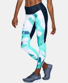 New Arrival Women's UA Armour Fly Fast Printed Tights LIMITED TIME: FREE U.S. SHIPPING 3 Colors $65