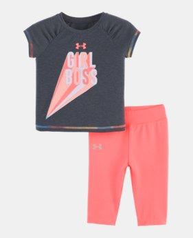 f2725ebb0 GLITTER GRAPHIC Girls  Infant UA Girl Boss Set GLITTER GRAPHIC 1 Color  Available  36