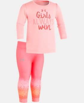 New Arrival Girls' Infant UA Always Win Set  1 Color $36.99