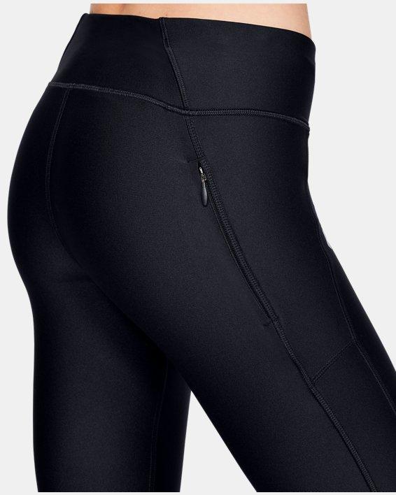 Women's UA Mileage Capris, Black, pdpMainDesktop image number 5