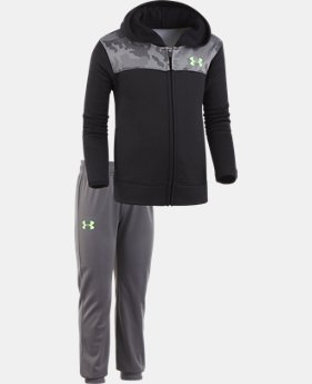 Boys' Pre-School UA Digital City Hoodie Track Set  2 Colors $45.99