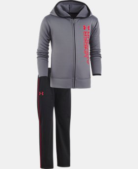 Boys' Pre-School UA Roster Hoodie Track Set  1 Color $42.99