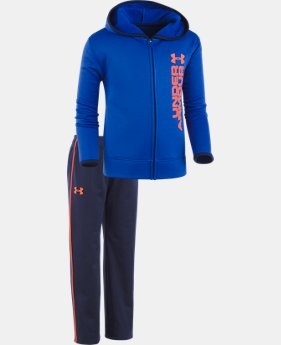 Boys' Pre-School UA Roster Hoodie Track Set LIMITED TIME OFFER  $32.24