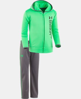 Boys' Pre-School UA Roster Hoodie Track Set LIMITED TIME OFFER 3 Colors $32.24