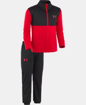 New Arrival Boys' Pre-School UA Legend Track Set  1 Color $39.99