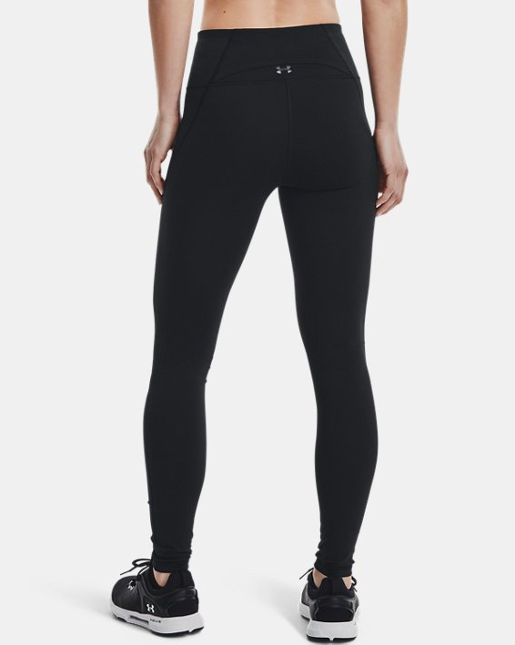 Women's UA Reflect Hi-Rise Leggings, Black, pdpMainDesktop image number 2