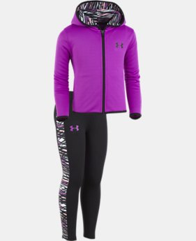 New Arrival Girls' Pre-School UA Rush Set  1 Color $45.99
