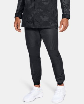 New Arrival Men's UA Unstoppable GORE® WINDSTOPPER® Woven Joggers  1 Color $99.99
