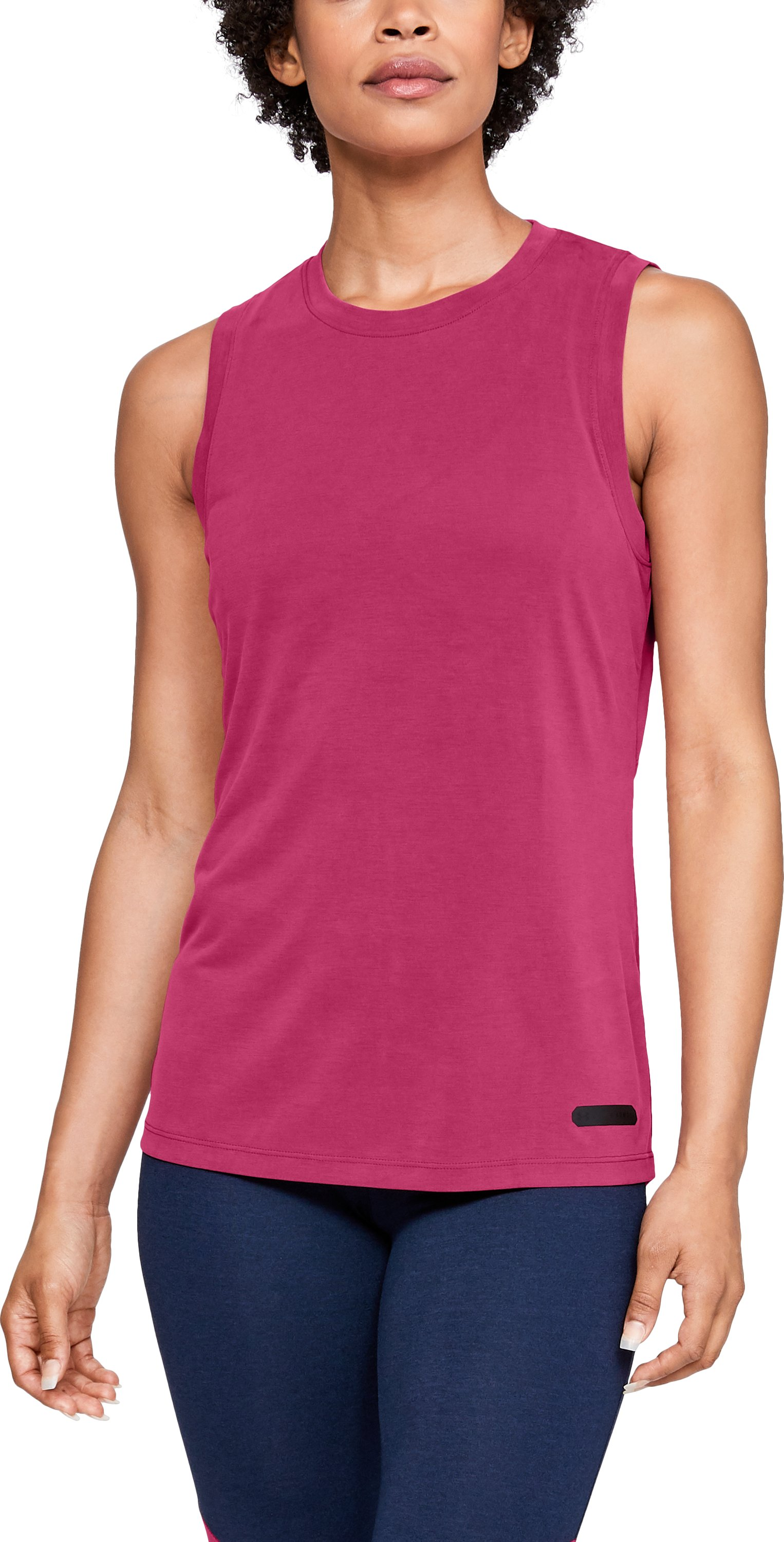 Women's UA Unstoppable Muscle Tank, Honeysuckle