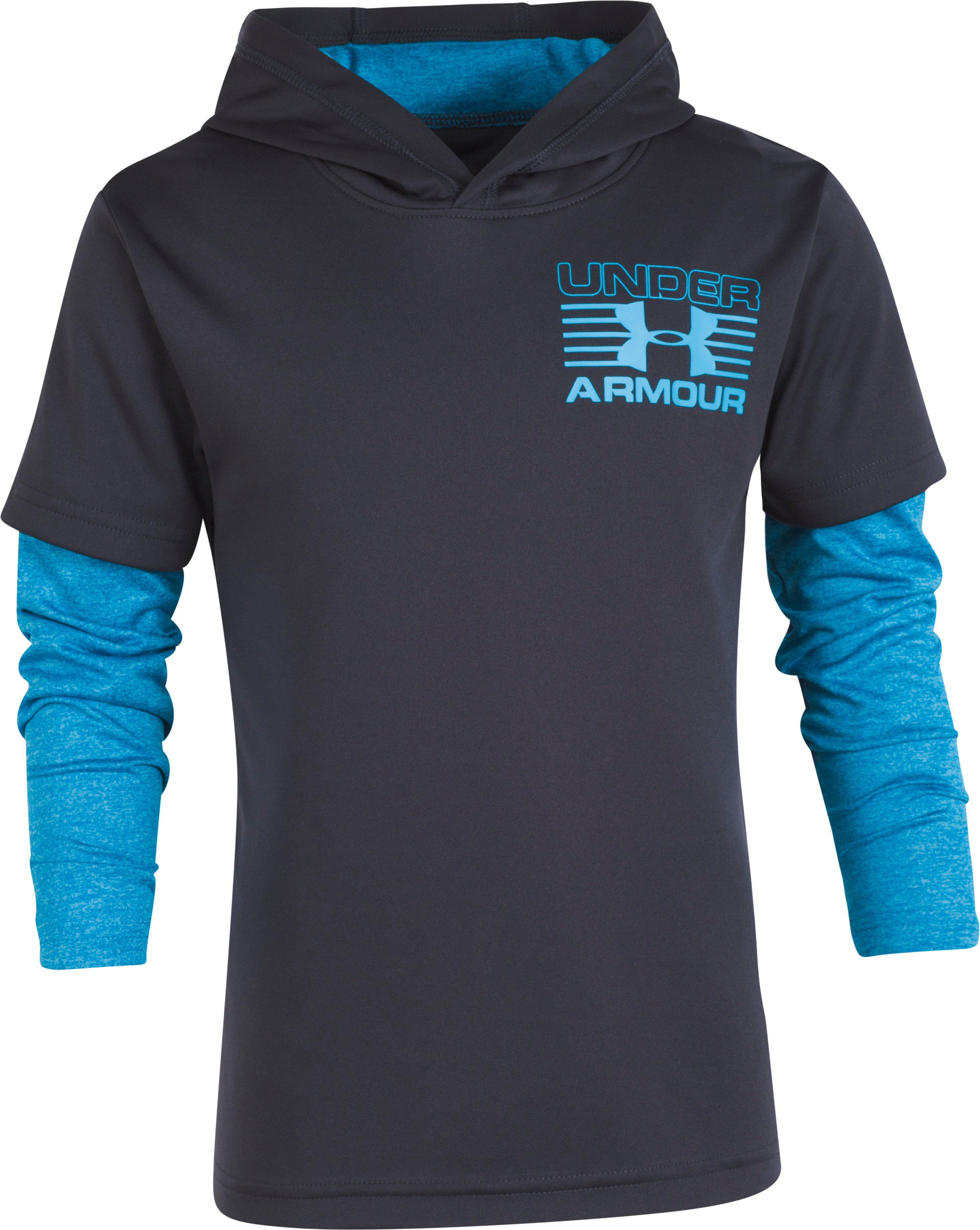 training sliders Boys' Pre-School UA Training Hoodie Slider