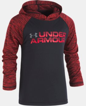 Boys' Toddler UA Wordmark Twist Tech Hoodie  2 Colors $32.99