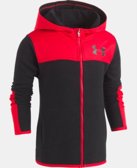 New Arrival  Boys' Toddler UA Cozy Hoodie Full Zip  1  Color Available $52.99