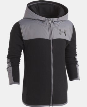 Boys' Toddler UA Cozy Full Zip Hoodie LIMITED TIME OFFER 3 Colors $34.49