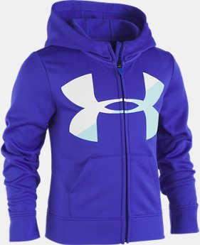 Girls' Pre-School UA Big Logo Hoodie LIMITED TIME OFFER 1 Color $29.99