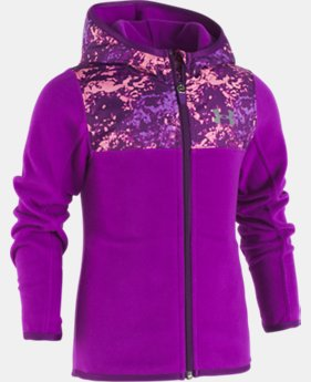 Girls' Toddler UA Range Camo Hoodie  1 Color $49.99
