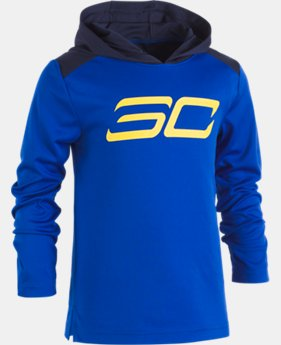 New Arrival Boys' Pre-School SC30 Tech™ Hoodie  1 Color $39.99