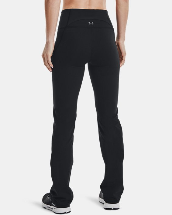 Women's UA Reflect Hi-Rise Boot Cut Pants, Black, pdpMainDesktop image number 2