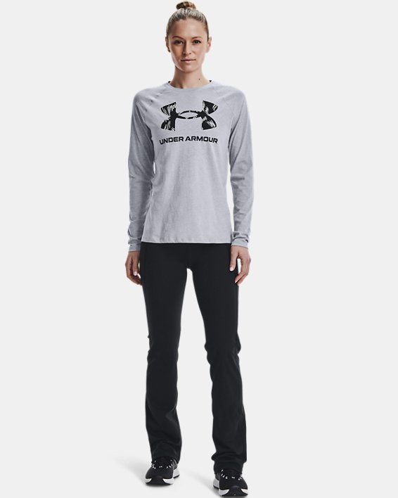 Women's UA Reflect Hi-Rise Boot Cut Pants, Black, pdpMainDesktop image number 1