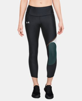 New Arrival Women's UA Armour Fly-Fast GX Crop  1  Color Available $65