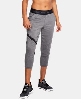 Women's UA Armour Sport Graphic Crop  2  Colors Available $37.5