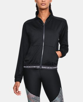 Women's HeatGear® Armour Full Zip  1 Color $65