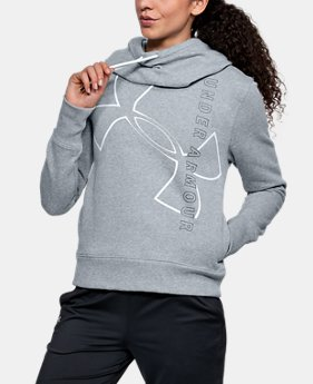 Women's UA Big Logo Cotton Hoodie  1 Color $50