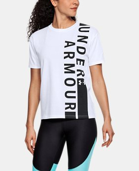 Women's UA Girlfriend Wordmark Crew  1 Color $30