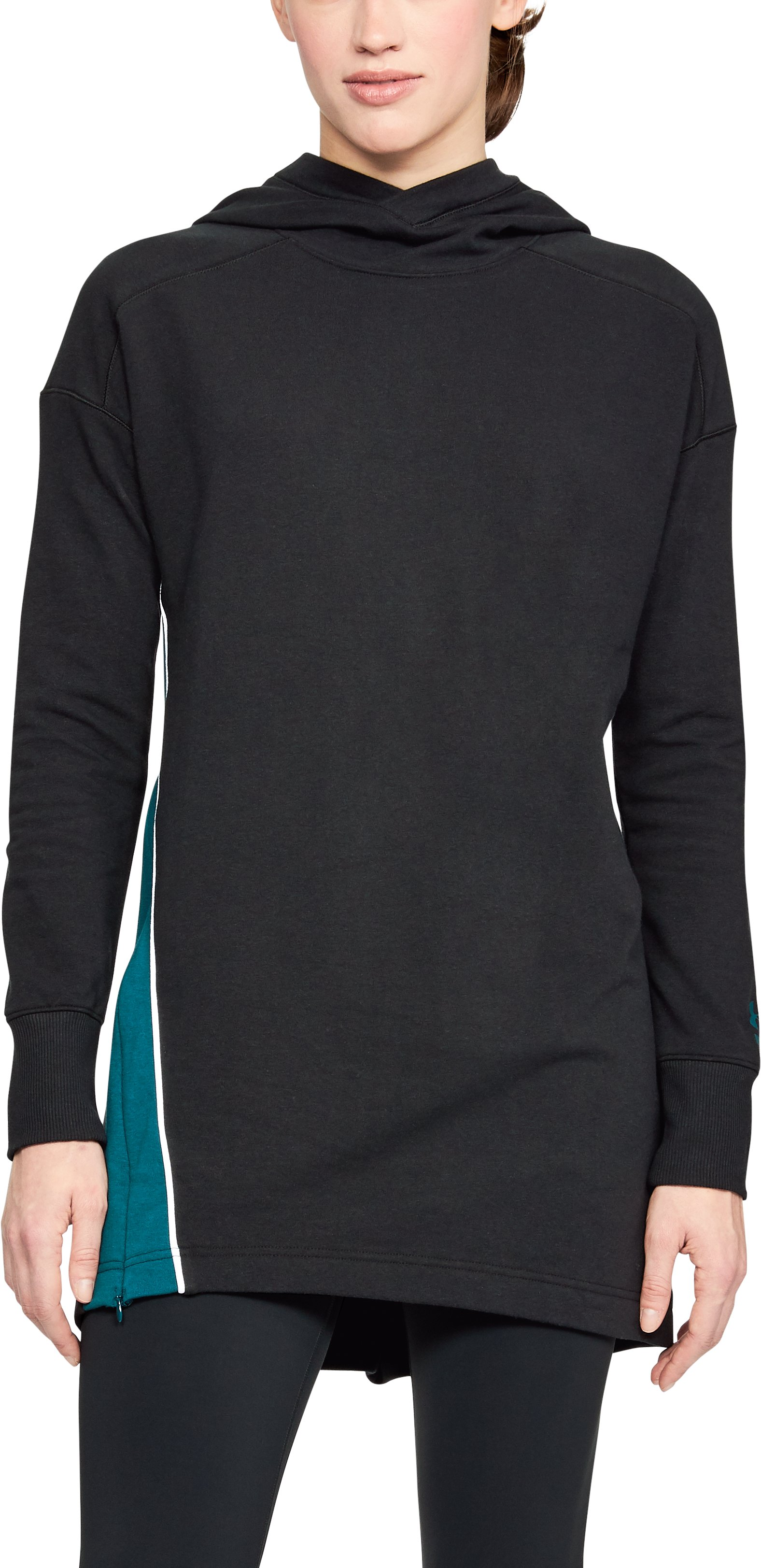black tunics Women's UA Fleece Tunic <strong>Fits</strong> well and is comfortable.