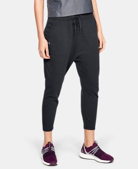 New Arrival Women's UA Favorite Terry Tapered Slouch Crop FREE U.S. SHIPPING 3  Colors Available $50