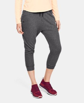 Women's UA Favorite Terry Tapered Slouch Crop  2  Colors Available $50