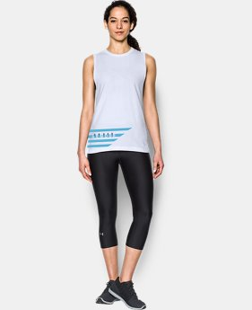 Women's UA Slash Stripe Tank  1 Color $17.99