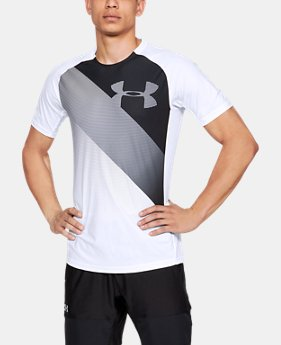 Men's UA Vanish Short Sleeve  1  Color Available $45