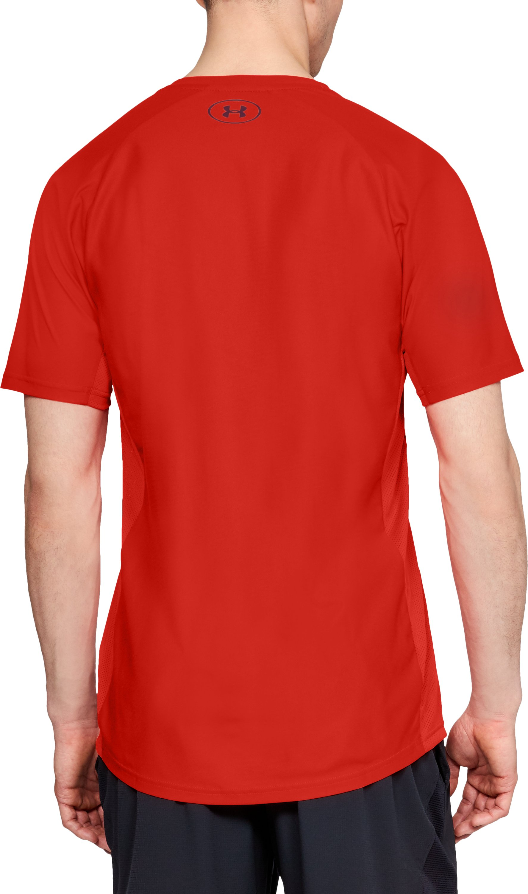 Men's UA Vanish Short Sleeve, Radio Red,