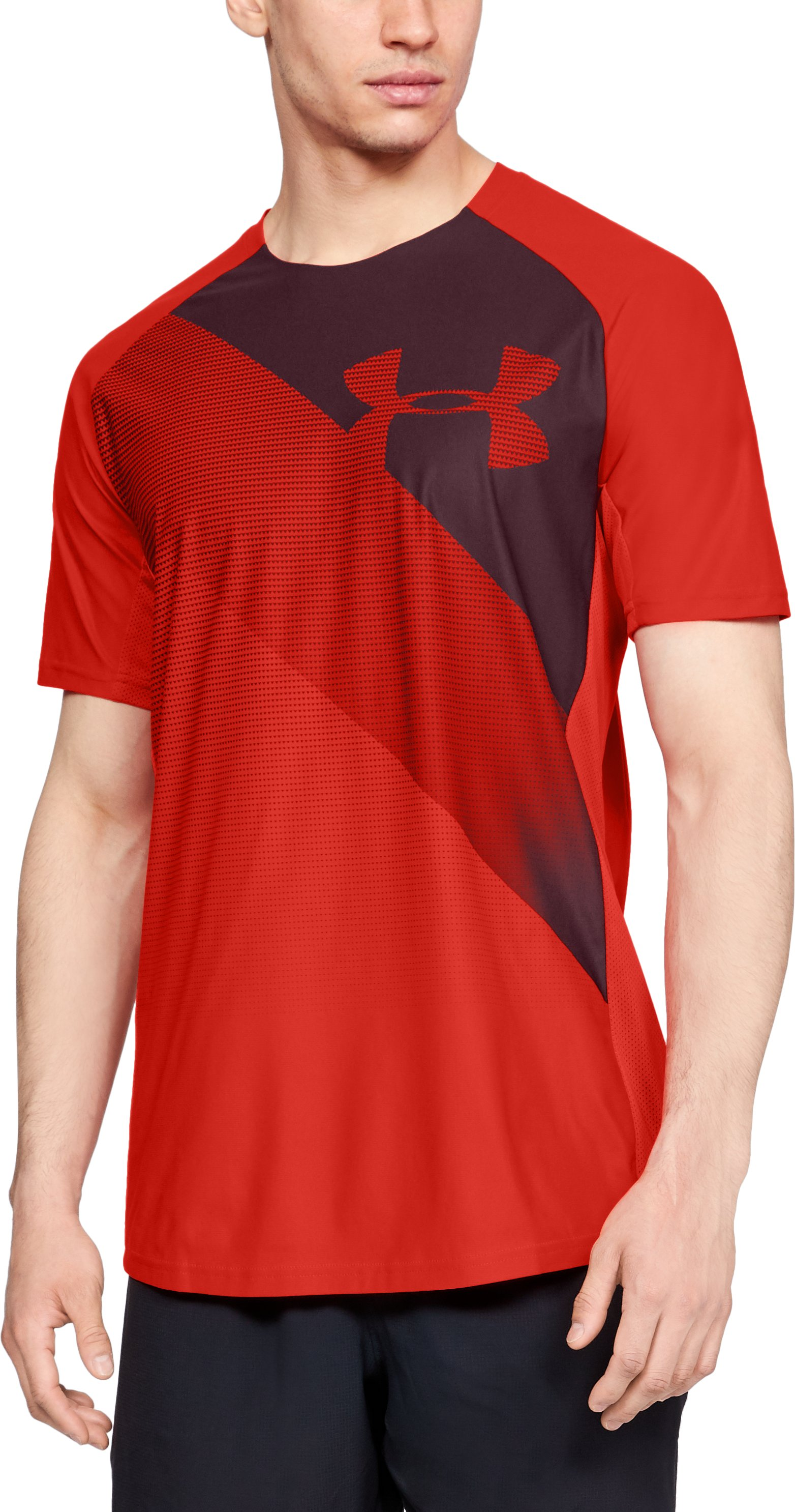 Men's UA Vanish Short Sleeve, Radio Red