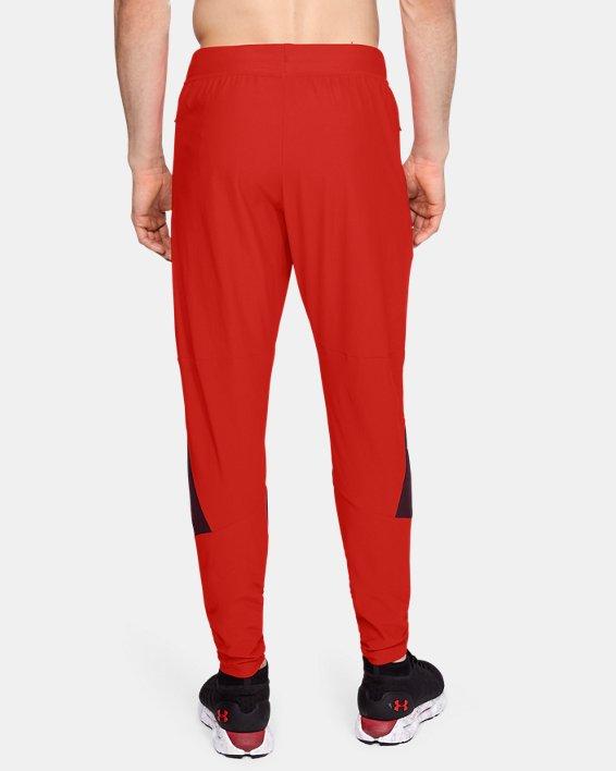 Men's UA Vanish Pants, Red, pdpMainDesktop image number 2
