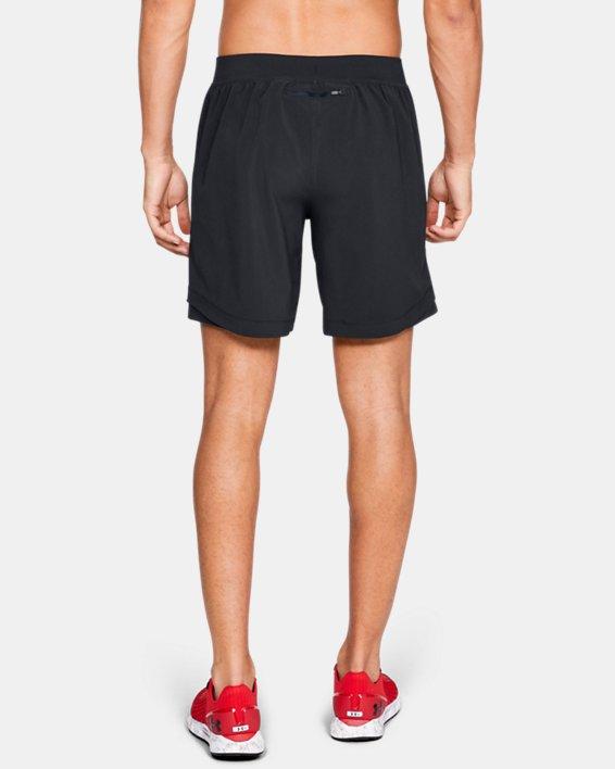 Short UA Speedpocket 20cm pour homme, Black, pdpMainDesktop image number 2