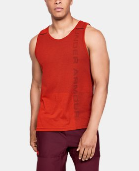 Men's UA Vanish Seamless Tank  1  Color Available $30